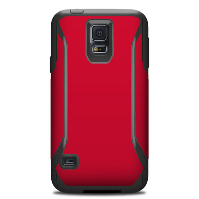 OtterBox Commuter Galaxy S5 Case Skin - Solid State Red