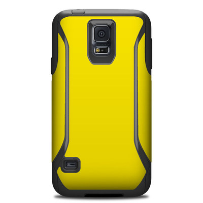 OtterBox Commuter Galaxy S5 Case Skin - Solid State Yellow