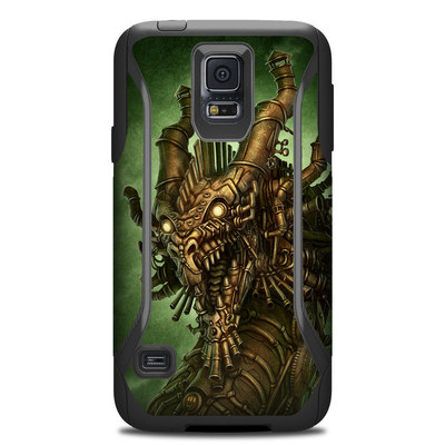OtterBox Commuter Galaxy S5 Case Skin - Steampunk Dragon