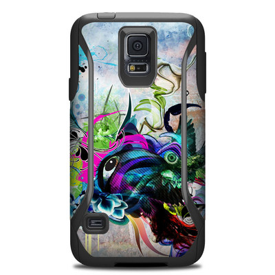 Otterbox Commuter Galaxy S5 Case Skin - Streaming Eye