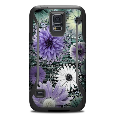 Otterbox Commuter Galaxy S5 Case Skin - Tidal Bloom