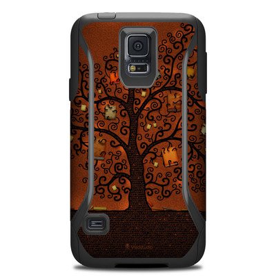 OtterBox Commuter Galaxy S5 Case Skin - Tree Of Books