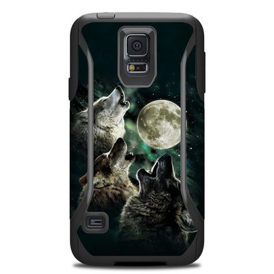 Otterbox Commuter Galaxy S5 Case Skin - Three Wolf Moon