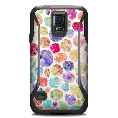 Otterbox Commuter Galaxy S5 Case Skin - Watercolor Dots