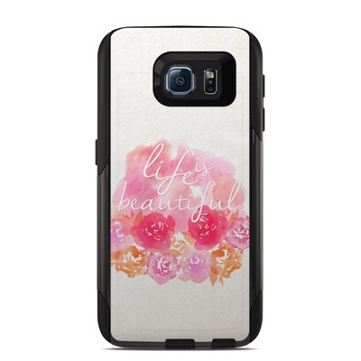 Otterbox Commuter Galaxy S6 Case Skin - Beautiful