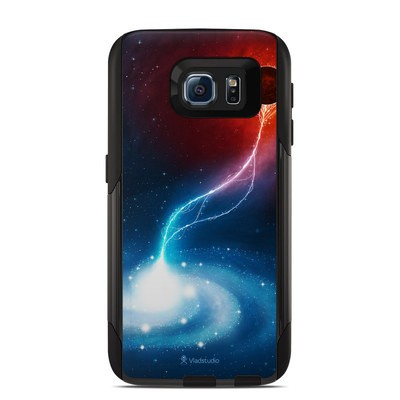 OtterBox Commuter Galaxy S6 Case Skin - Black Hole