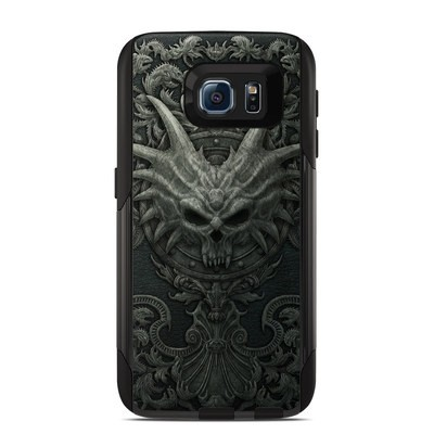 Otterbox Commuter Galaxy S6 Case Skin - Black Book