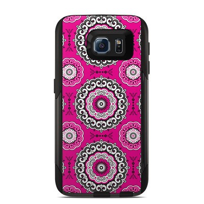 Otterbox Commuter Galaxy S6 Case Skin - Boho Girl Medallions