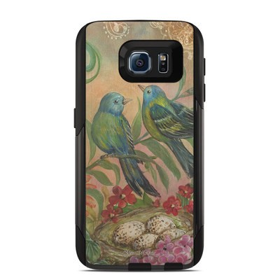 Otterbox Commuter Galaxy S6 Case Skin - Splendid Botanical