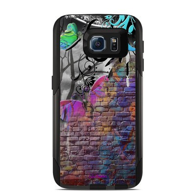 Otterbox Commuter Galaxy S6 Case Skin - Butterfly Wall
