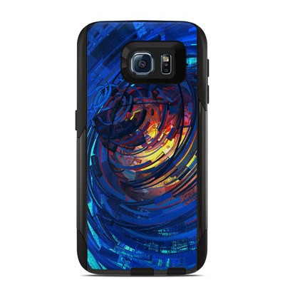 OtterBox Commuter Galaxy S6 Case Skin - Clockwork