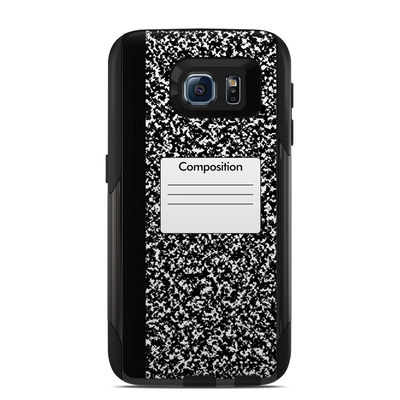 OtterBox Commuter Galaxy S6 Case Skin - Composition Notebook
