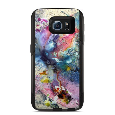 Otterbox Commuter Galaxy S6 Case Skin - Cosmic Flower