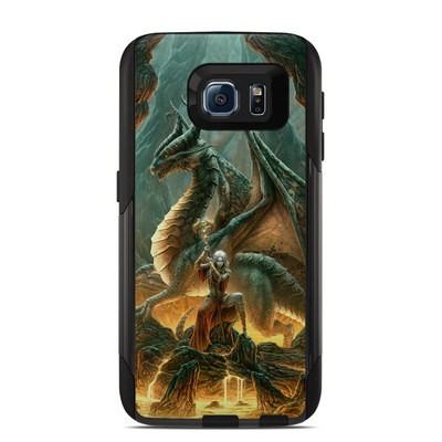 Otterbox Commuter Galaxy S6 Case Skin - Dragon Mage