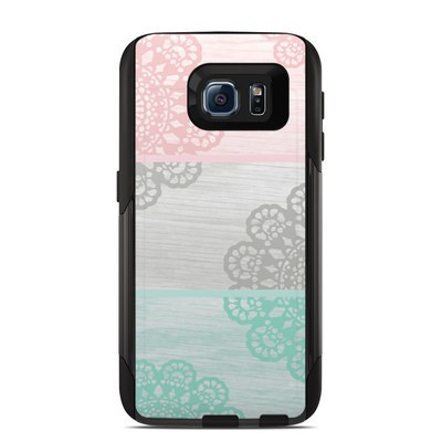 OtterBox Commuter Galaxy S6 Case Skin - Doily