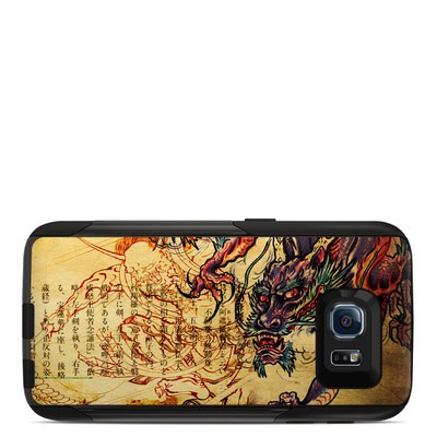 OtterBox Commuter Galaxy S6 Case Skin - Dragon Legend