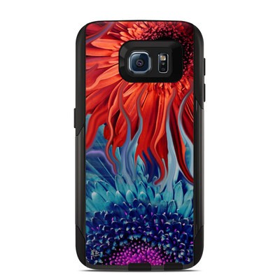 Otterbox Commuter Galaxy S6 Case Skin - Deep Water Daisy Dance