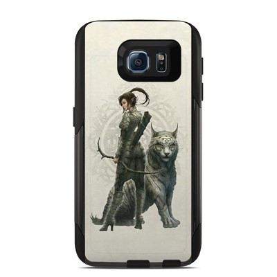 Otterbox Commuter Galaxy S6 Case Skin - Half Elf Girl