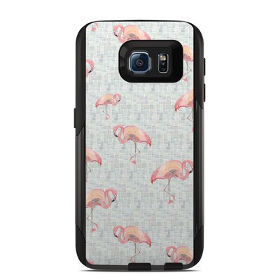 OtterBox Commuter Galaxy S6 Case Skin - Flamingo Mosaic