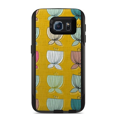 Otterbox Commuter Galaxy S6 Case Skin - Flower Cups