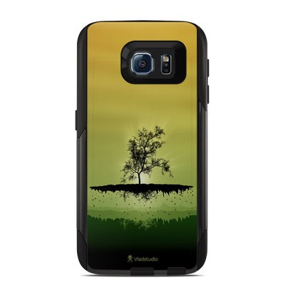 OtterBox Commuter Galaxy S6 Case Skin - Flying Tree Amber