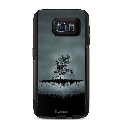 Otterbox Commuter Galaxy S6 Case Skin - Flying Tree Black