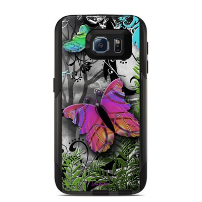 OtterBox Commuter Galaxy S6 Case Skin - Goth Forest