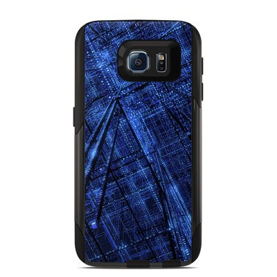 OtterBox Commuter Galaxy S6 Case Skin - Grid