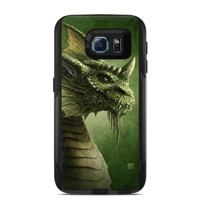 Otterbox Commuter Galaxy S6 Case Skin - Green Dragon