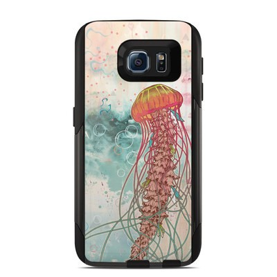 OtterBox Commuter Galaxy S6 Case Skin - Jellyfish