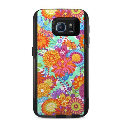 OtterBox Commuter Galaxy S6 Case Skin - Jubilee Blooms