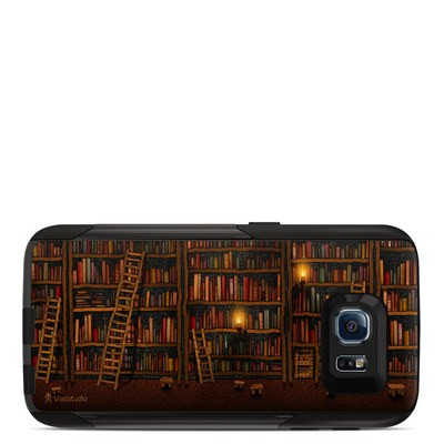 OtterBox Commuter Galaxy S6 Case Skin - Library