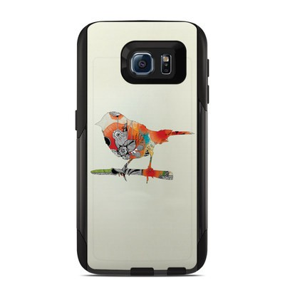 Otterbox Commuter Galaxy S6 Case Skin - Little Bird