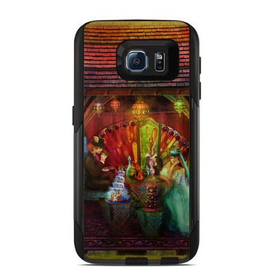Otterbox Commuter Galaxy S6 Case Skin - A Mad Tea Party