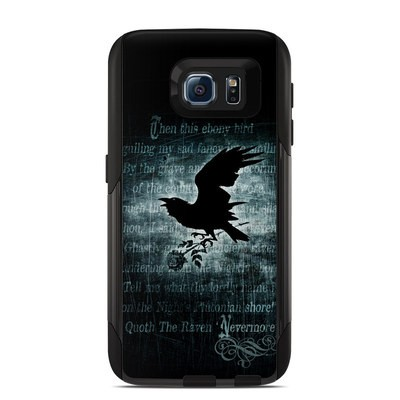 Otterbox Commuter Galaxy S6 Case Skin - Nevermore