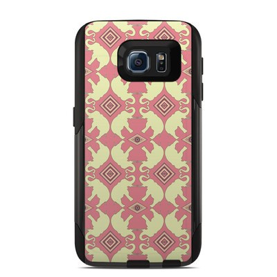 OtterBox Commuter Galaxy S6 Case Skin - Parade of Elephants