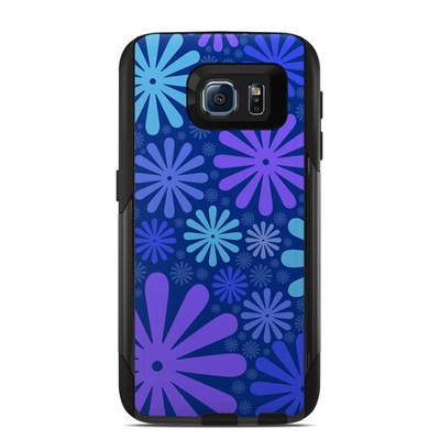 OtterBox Commuter Galaxy S6 Case Skin - Indigo Punch