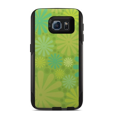 OtterBox Commuter Galaxy S6 Case Skin - Lime Punch