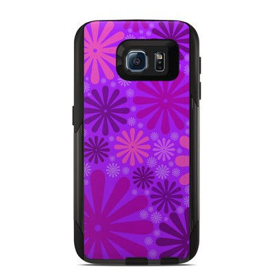 OtterBox Commuter Galaxy S6 Case Skin - Purple Punch