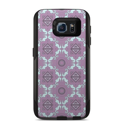 Otterbox Commuter Galaxy S6 Case Skin - School of Seahorses