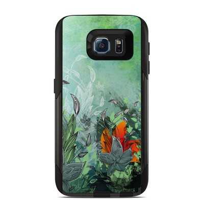Otterbox Commuter Galaxy S6 Case Skin - Sea Flora