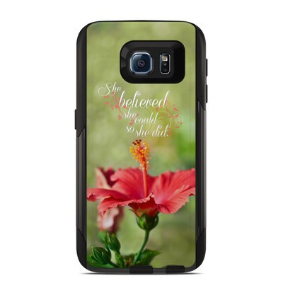 Otterbox Commuter Galaxy S6 Case Skin - She Believed