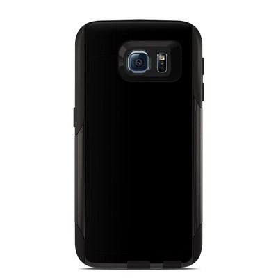 OtterBox Commuter Galaxy S6 Case Skin - Solid State Black