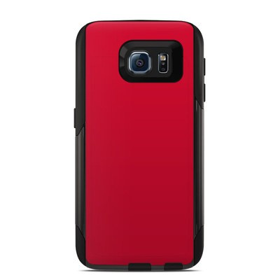 OtterBox Commuter Galaxy S6 Case Skin - Solid State Red
