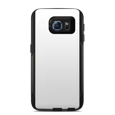 OtterBox Commuter Galaxy S6 Case Skin - Solid State White