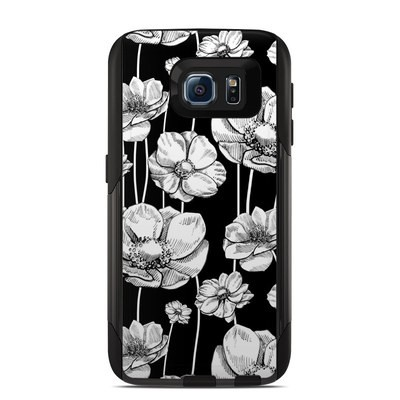 Otterbox Commuter Galaxy S6 Case Skin - Striped Blooms