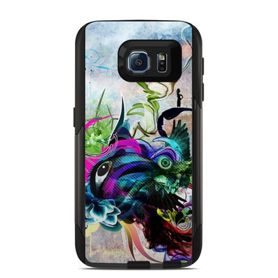 OtterBox Commuter Galaxy S6 Case Skin - Streaming Eye