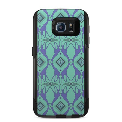 Otterbox Commuter Galaxy S6 Case Skin - Tower of Giraffes