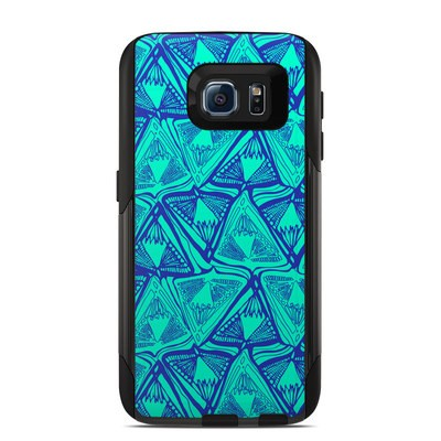 OtterBox Commuter Galaxy S6 Case Skin - Tribal Beat