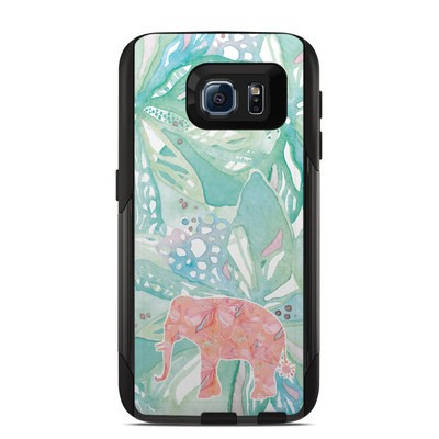 Otterbox Commuter Galaxy S6 Case Skin - Tropical Elephant